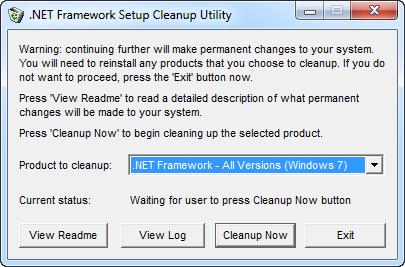 Microsoft .NET Framework 1.1 - 4.5.3