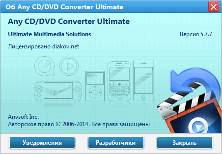 Any DVD Converter Professional 5.7.7