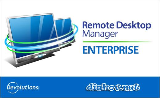 Remote Desktop Manager 11.0.14.0 Enterprise