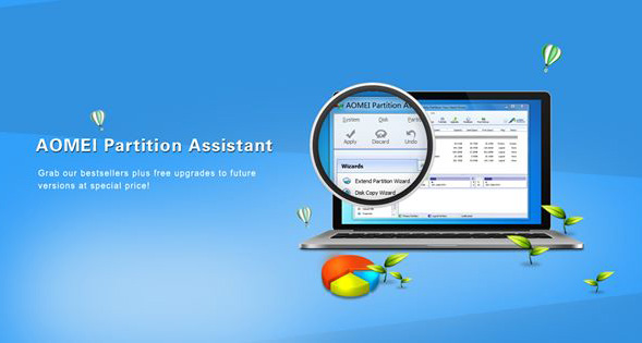 AOMEI Partition Assistant 8.10 Pro | Server | Technician | Unlimited + Bootable Media