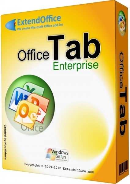 Office Tab Enterprise Edition 10.5