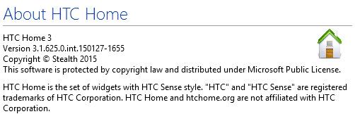 HTC Home Apis 3.1 Build 625