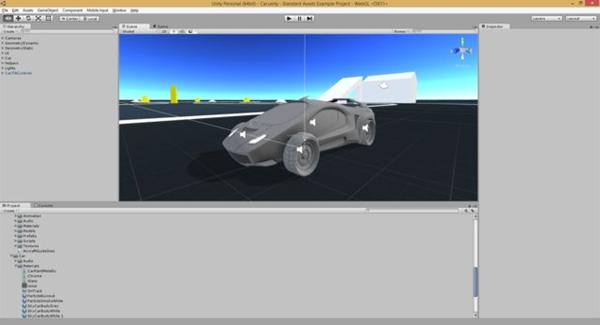 Unity3D Pro 5.0.0f4
