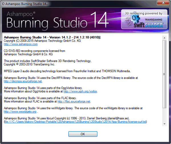 Ashampoo Burning Studio 14 Build 14.1.2.10 Final