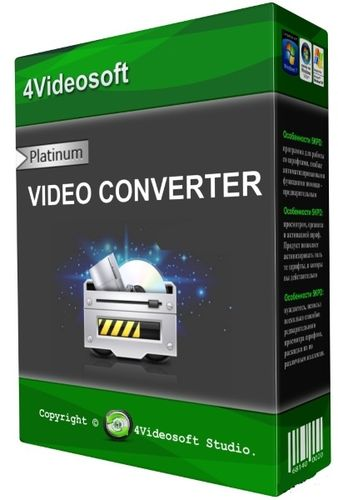 4Videosoft Video Converter Platinum 5.2.28 + Rus
