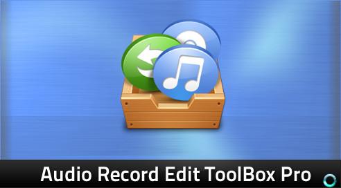 Audio Record Edit Toolbox Pro 14.1.2 Final