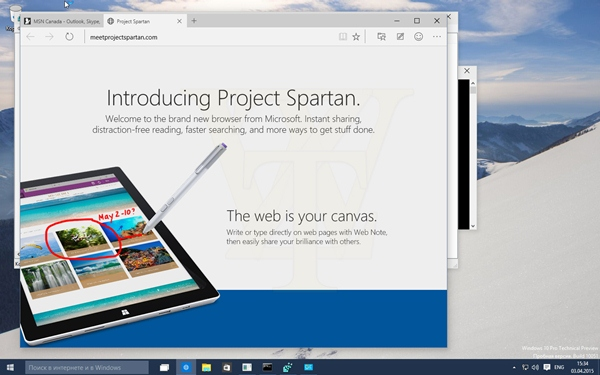 Microsoft Windows 10 Pro Technical Preview 10051