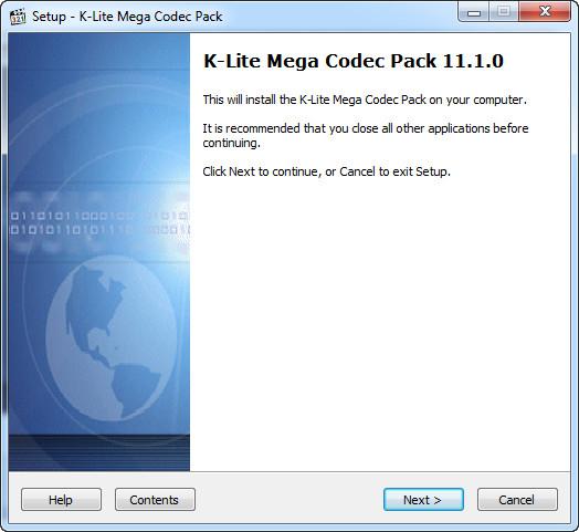 K-Lite Codec Pack 11.1.0 Mega/Full/Standard