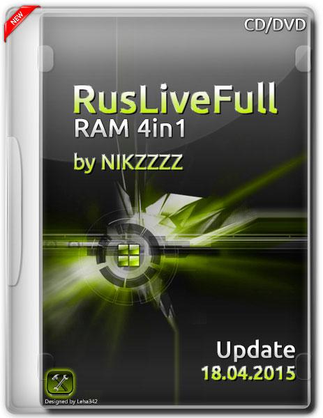 RusLiveFull RAM 4in1 by NIKZZZZ CD/DVD 18.04.2015