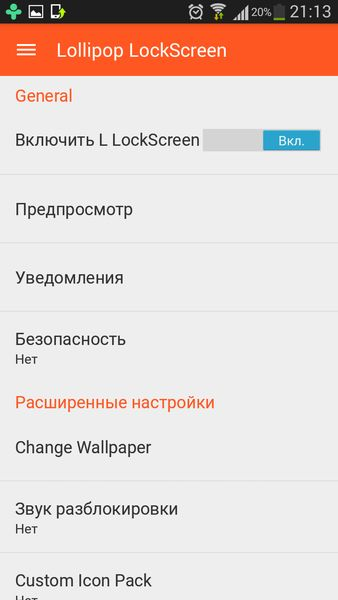 Lollipop Lockscreen Android L Premium 1.62