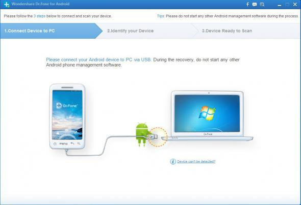 Wondershare Dr.Fone for Android 5.3.1.19
