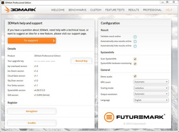 3DMark 1.5.915 Professional Edition