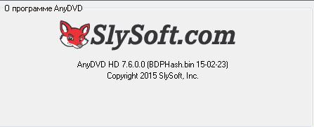 AnyDVD & AnyDVD HD 7.6.0.0 Final