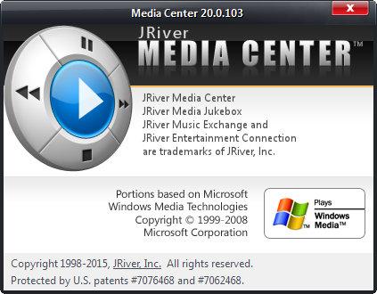 J.River Media Center 20.0.103
