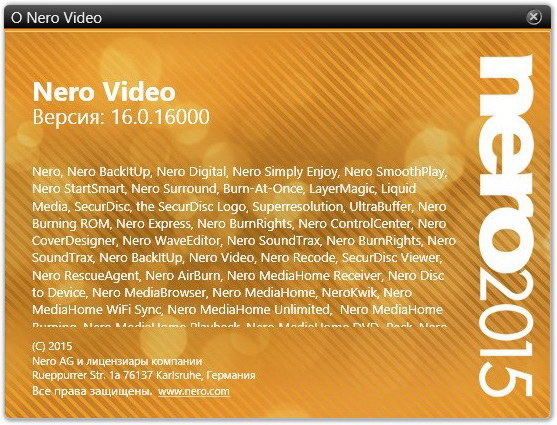 Nero Video 2015 16.0.02500 + Content Packs