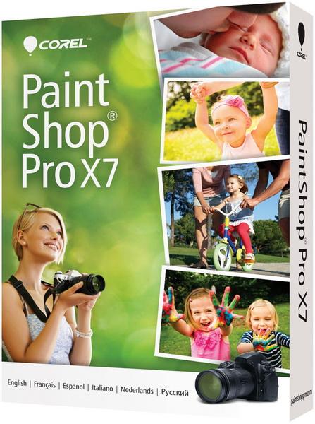 Corel PaintShop Pro X7 17.2.0.17e Retail