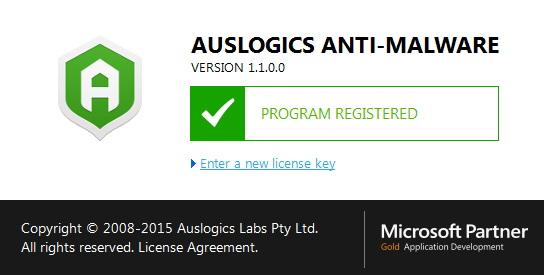 Auslogics Anti-Malware 2015 1.1.0