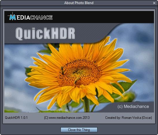 QuickHDR 1.0.1