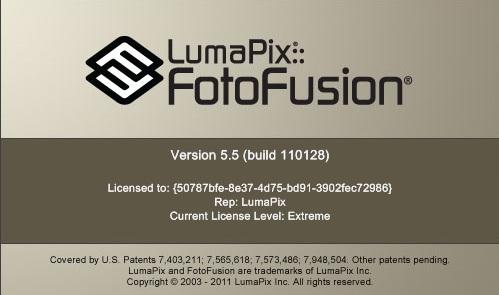 LumaPix FotoFusion 5.5 Build 110128 Xtreme Edition