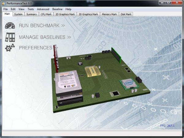 PerformanceTest 8.0 Build 1049