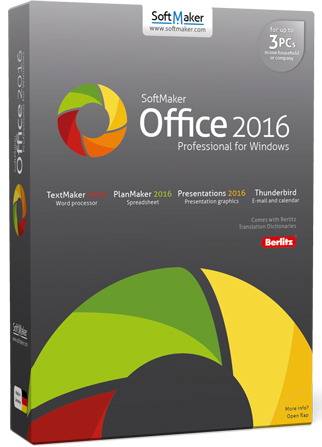 SoftMaker Office Professional 2016 rev.766.0331 + Portable