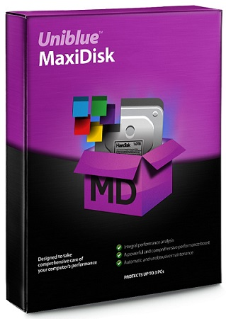 Uniblue MaxiDisk 2015 1.0.9.0