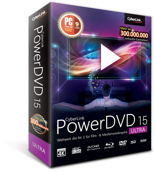CyberLink PowerDVD Ultra 15.0.2718.58