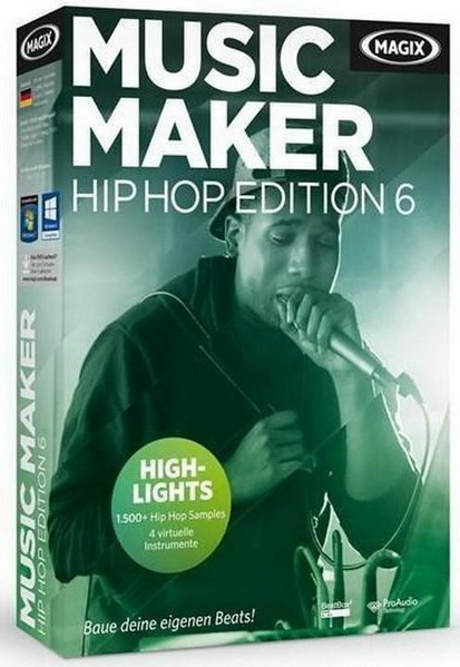 MAGIX Music Maker Hip Hop Edition 6 21.0.3.47