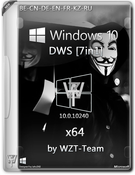 Windows 10 DWS x64 7in1 by WZT-Team