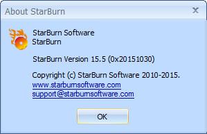 StarBurn 15.5 DC 28.04.2016