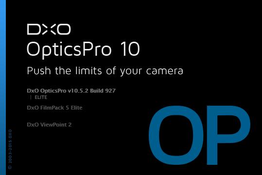 DxO Optics Pro 10.5.2 Build 927 Elite