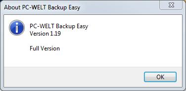 PC-WELT Backup Easy 1.19