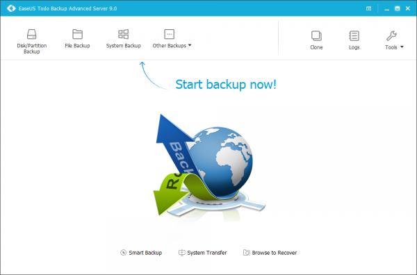 EaseUS Todo Backup Advanced Server 9.0