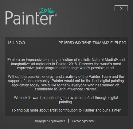 Corel Painter 2016 15.1.0.740