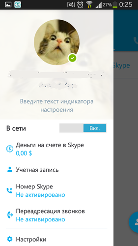 Skype for Android 7.27.0.295