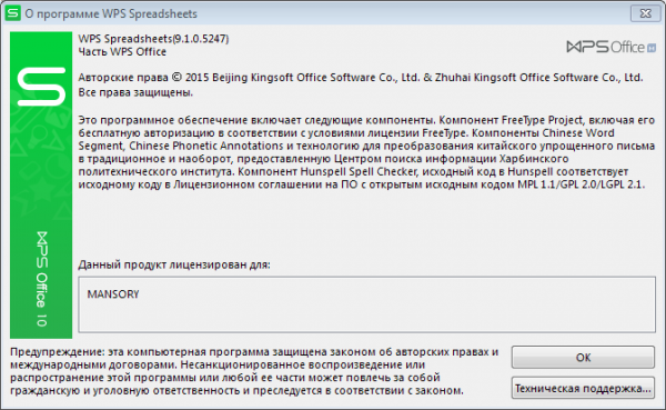 WPS Office 2015 Premium 9.1.0.5247 + Portable