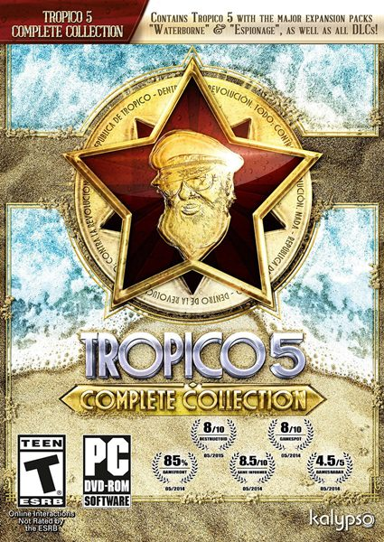 Tropico 5: Complete Collection (2016/RUS/ENG/MULTi8/RePack)