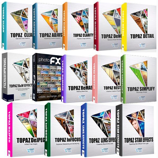 Topaz Plug-ins Bundle for Adobe Photoshop 2016