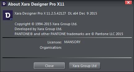 Xara Designer Pro X11 v11.2.5.42127 + Content