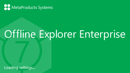 MetaProducts Offline Explorer Enterprise 7.4.0.4580 SR2