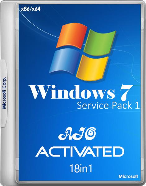 Windows 7 SP1 -18in1- Activated v.6 by m0nkrus