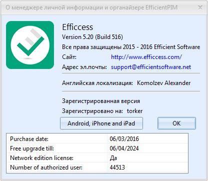 Efficcess Pro 5.20 Build 516 + Portable