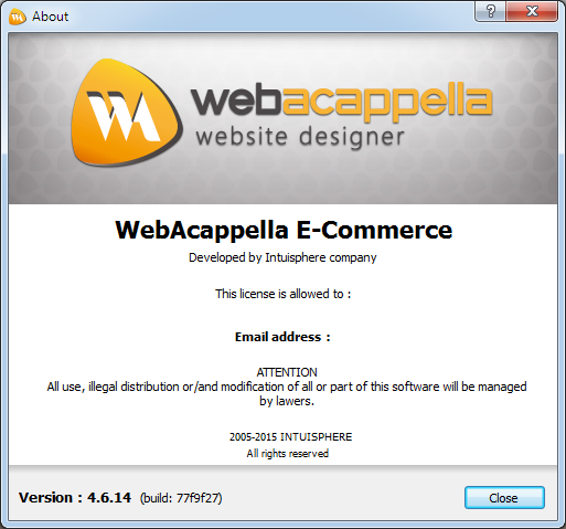 Intuisphere WebAcappella E-Commerce 4.6.14 + Portable