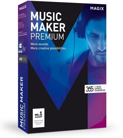 MAGIX Music Maker 2017 Premium 24.0.1.34