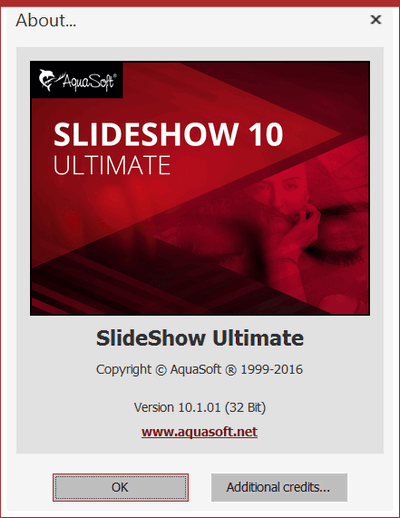 AquaSoft SlideShow 10