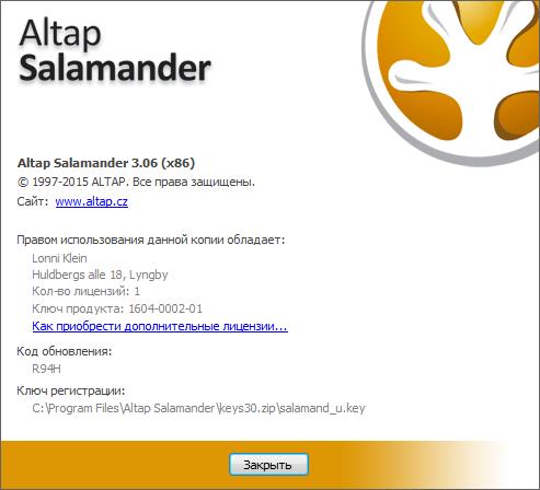 Altap Salamander 3.06