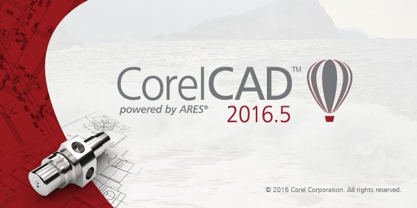 CorelCAD 2016.5 build 16.2.1.3056