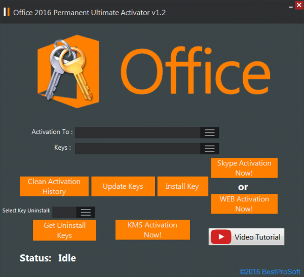 Office 2016 Permanent Activator Ultimate 1.2 + Portable