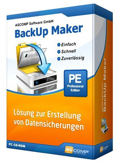 BackUp Maker Professional Edition 8.001 + Portable
