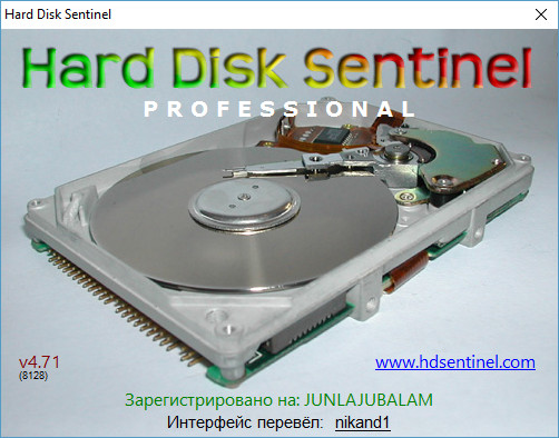 Hard Disk Sentinel Pro 4.71 Bild 8128 Final DC 23.06.2016 + Portable